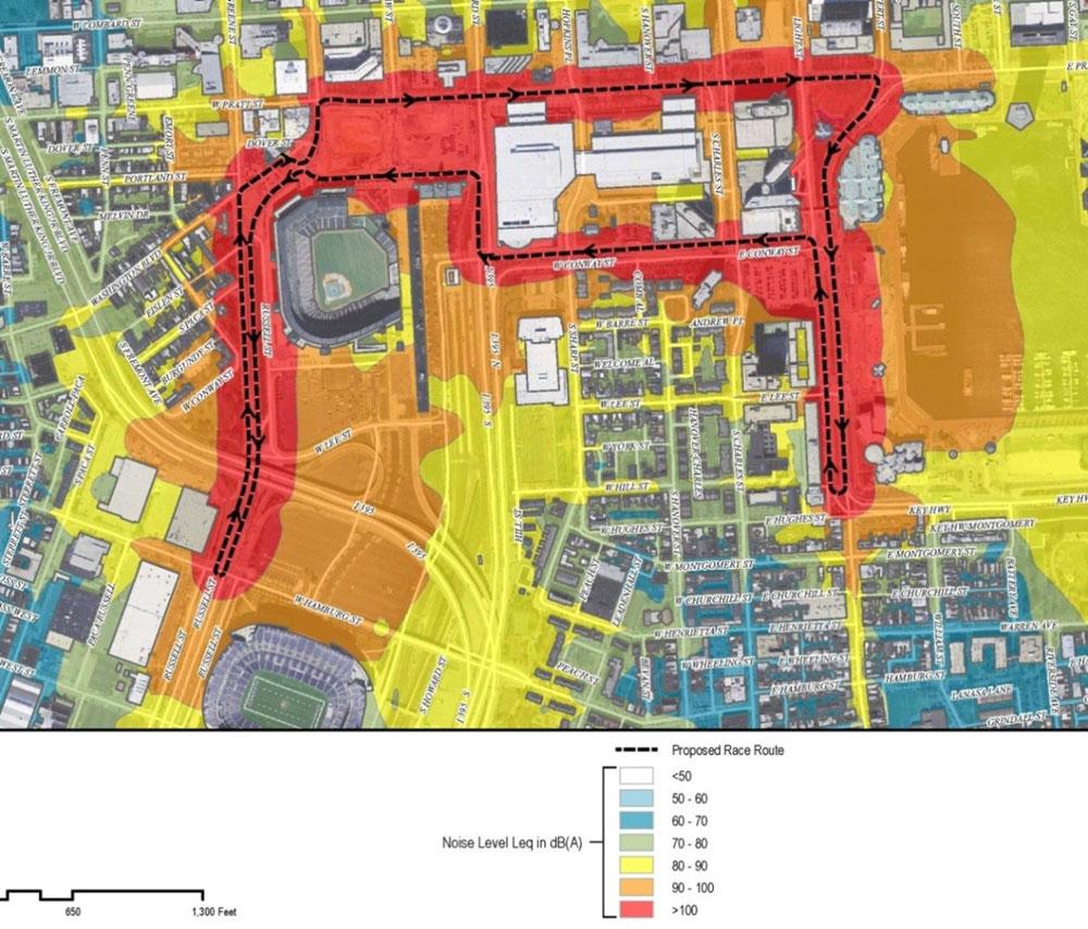 Baltimore Grand Prix Noise Analysis