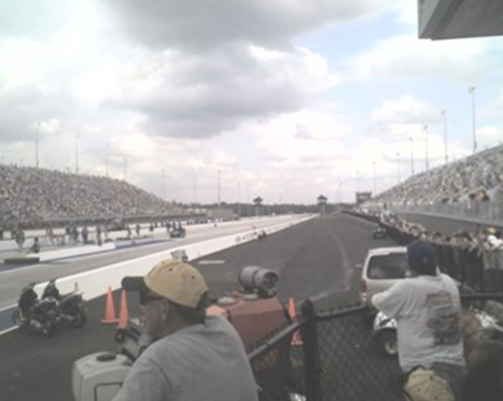 Dragway and NASCAR Speedway Noise Comparison