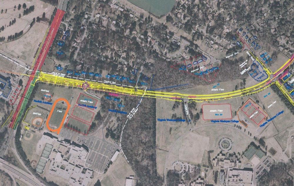 Wesleyan Drive Roadway Widening