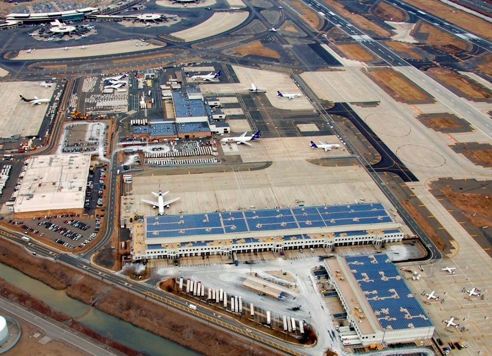 Solar Reflectivity Study, Newark Liberty International Airport