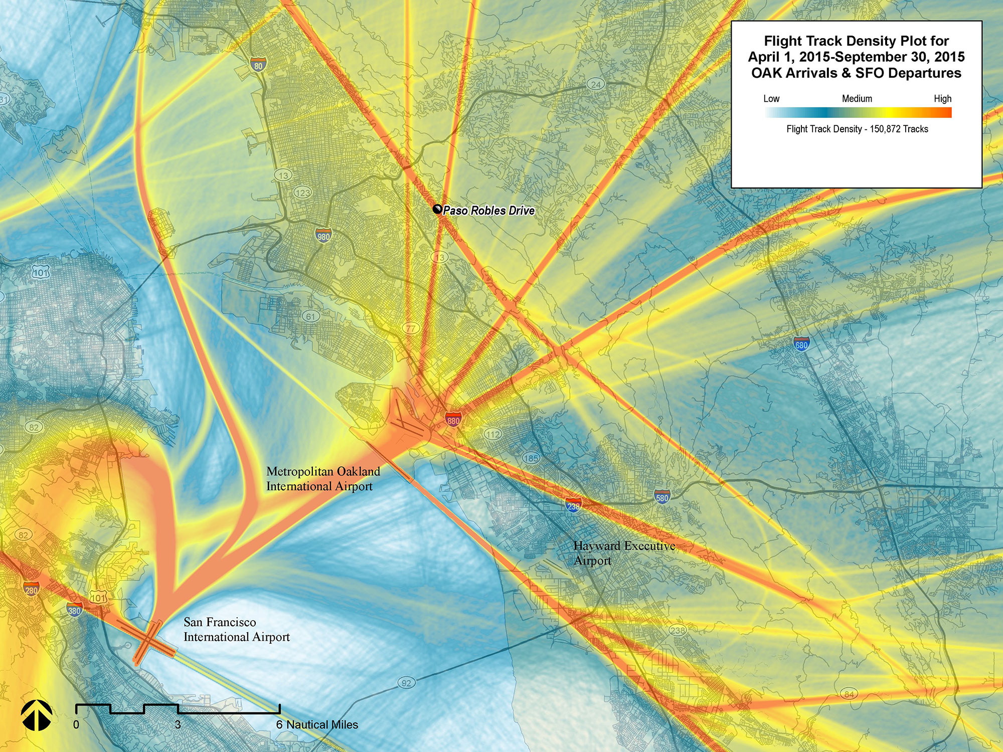NorCal Metroplex Analysis, Oakland International Airport