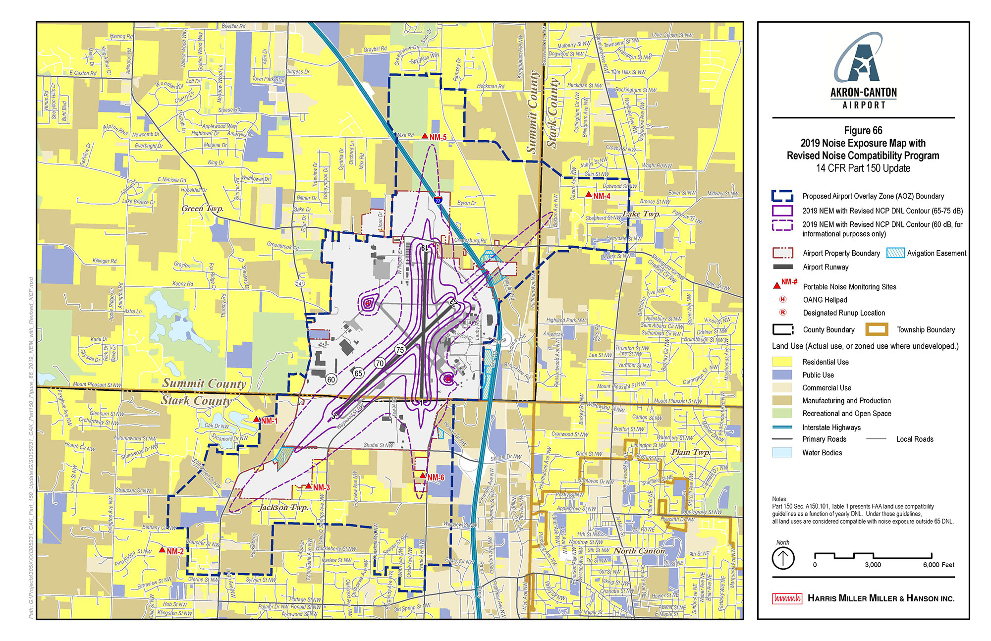 Master Plan and Noise Compatibility Planning (Part 150), Akron-Canton Airport
