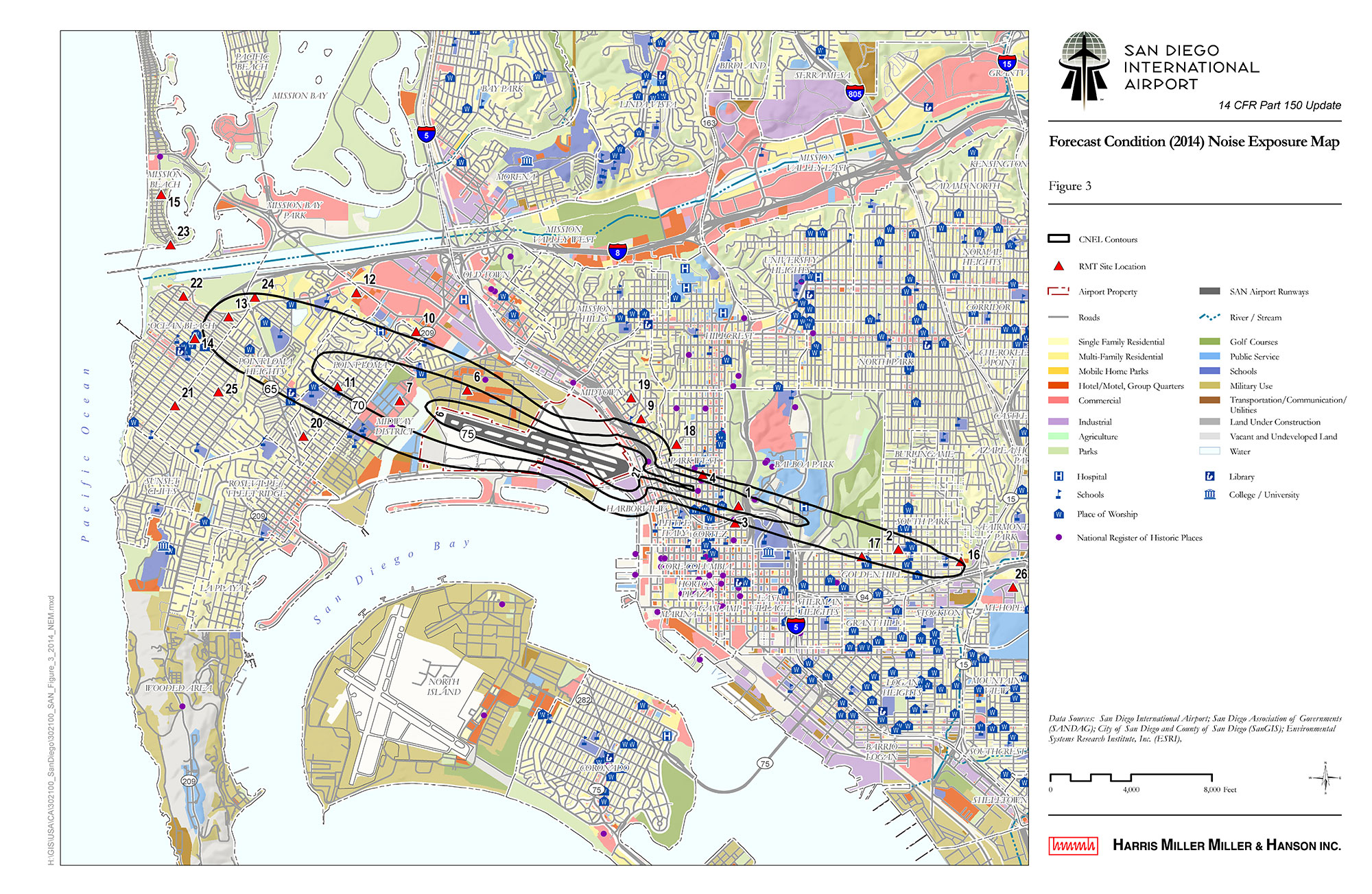 14 CFR Part 150 Noise Study, San Diego International Airport