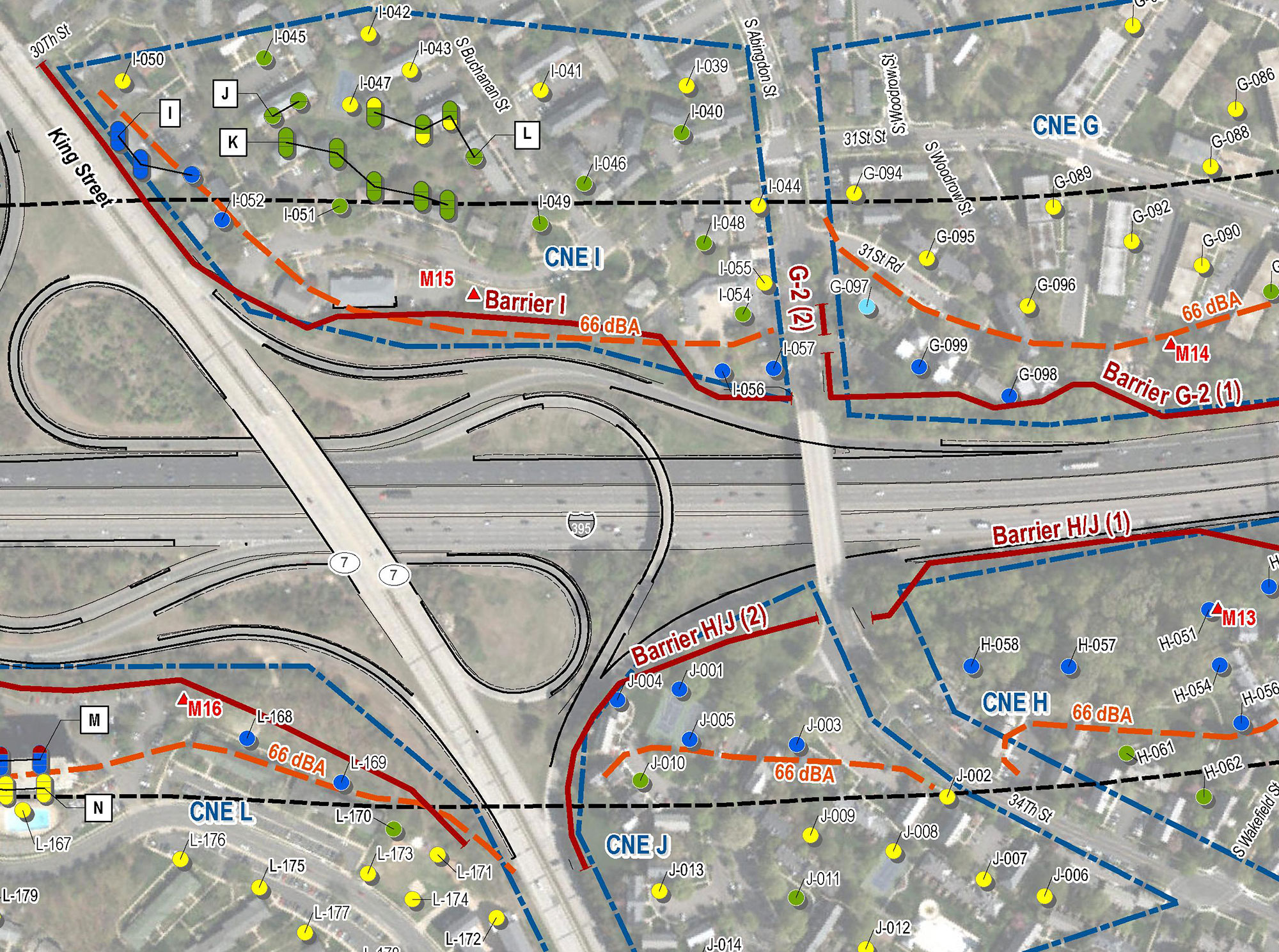 VDOT I-395 Express Lanes Northern Extension Noise Study