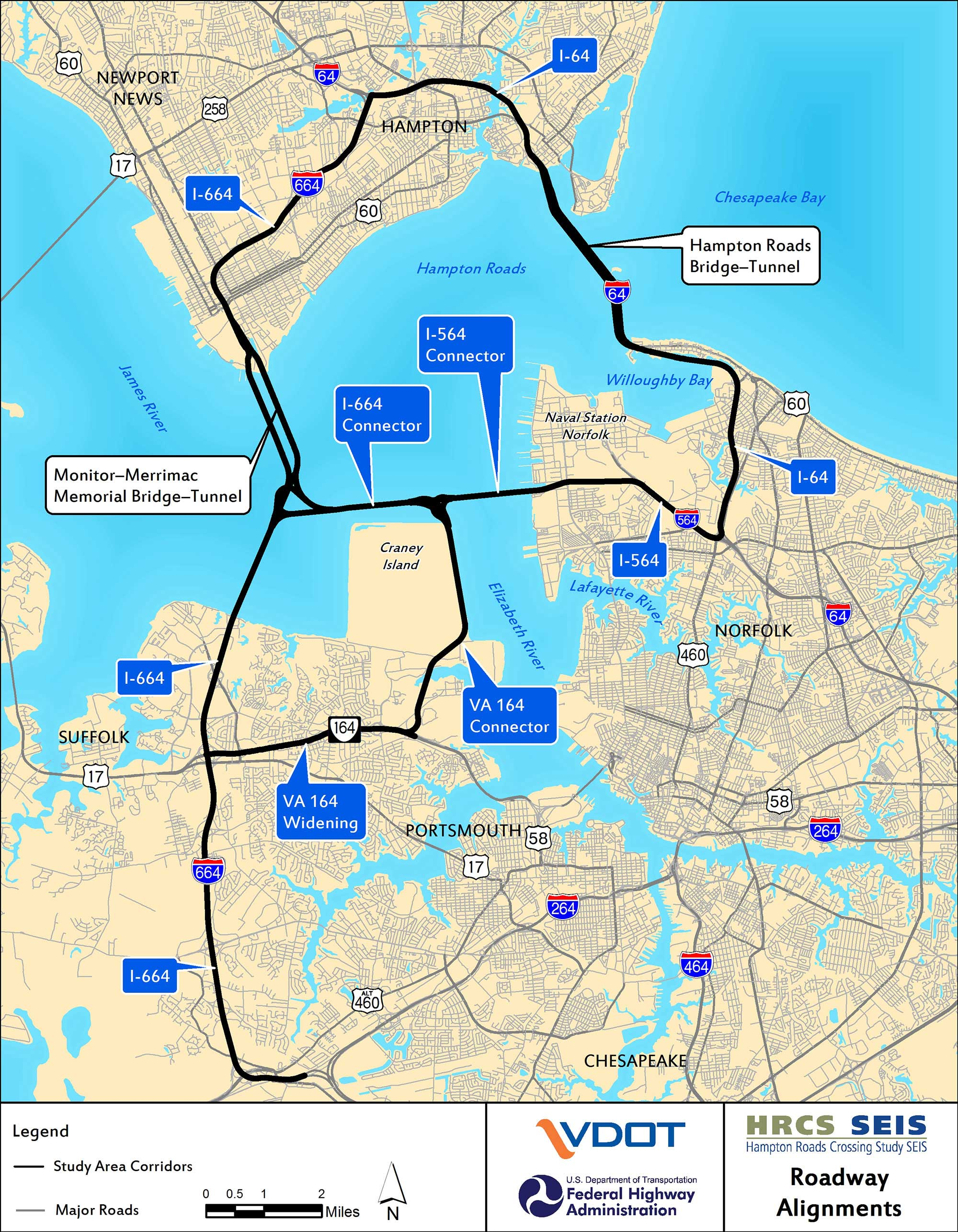 VDOT Hampton Roads Crossing Study Supplemental Environmental Impact Statement