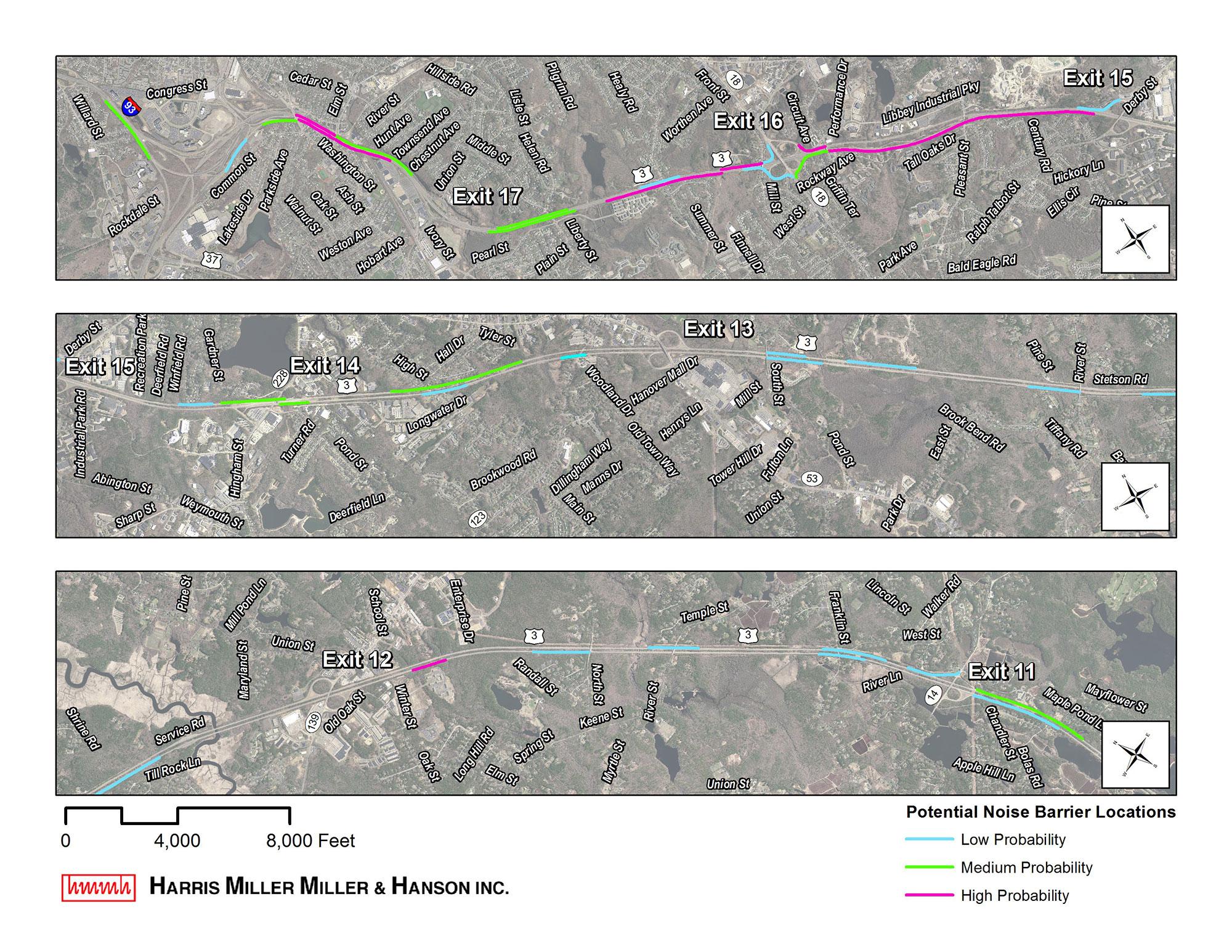MassDOT Route 3 South Transportation Improvements Environmental Notification