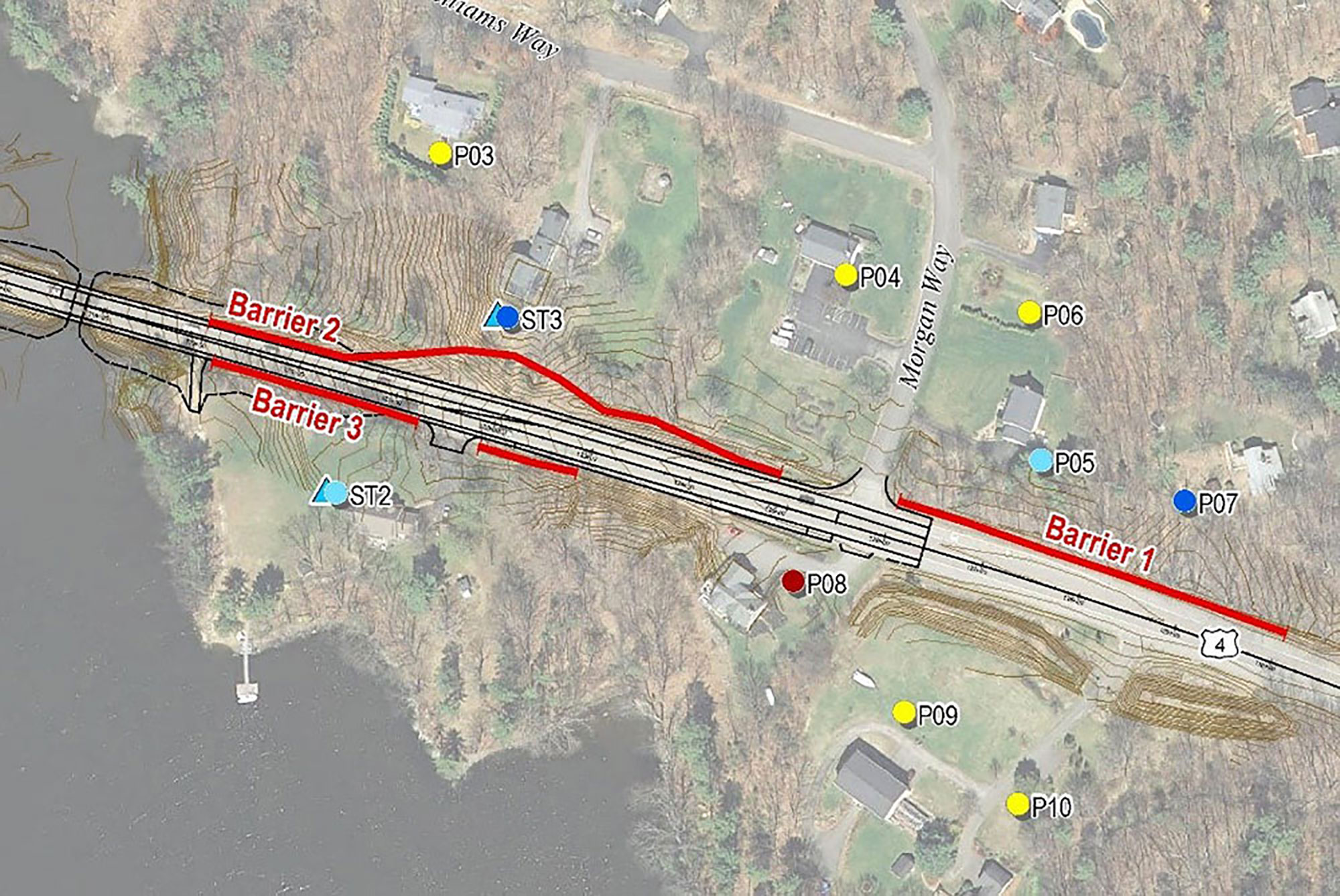 NHDOT U.S. Route 4 Type I Noise Study